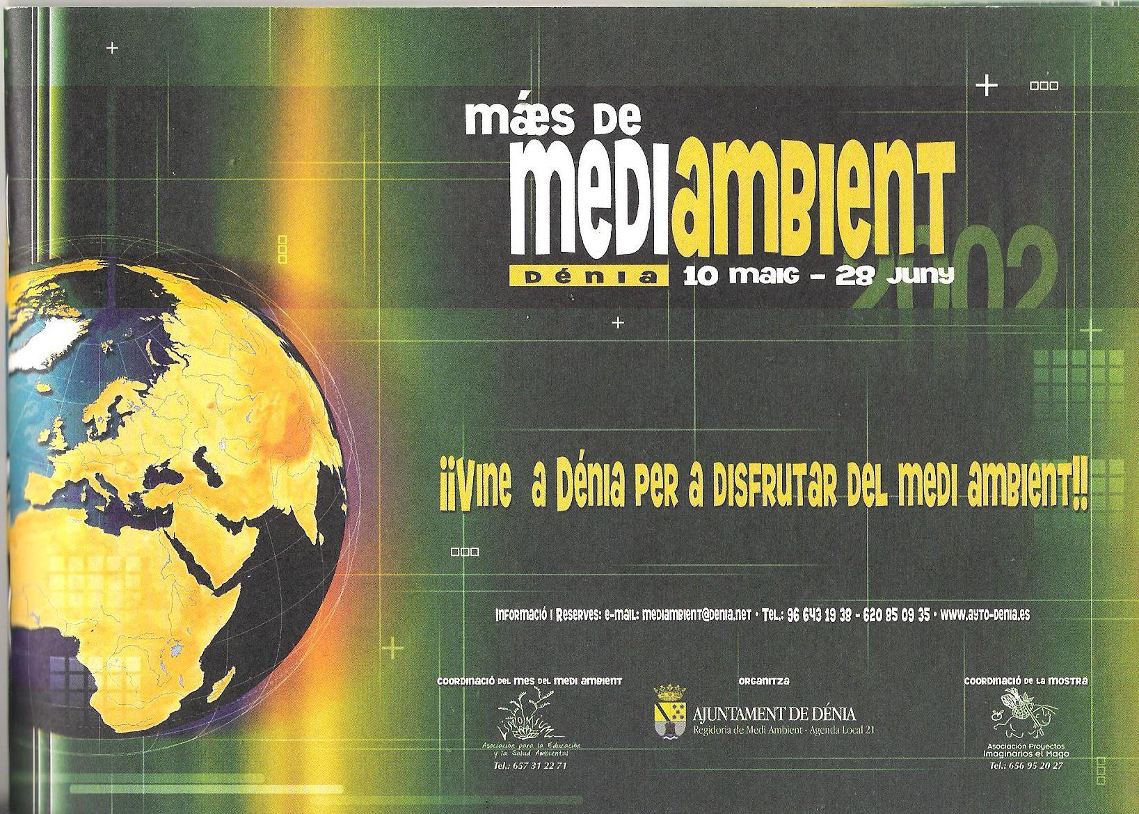 VI Feria de Medio Ambiente en Dénia (Mayo-2002)